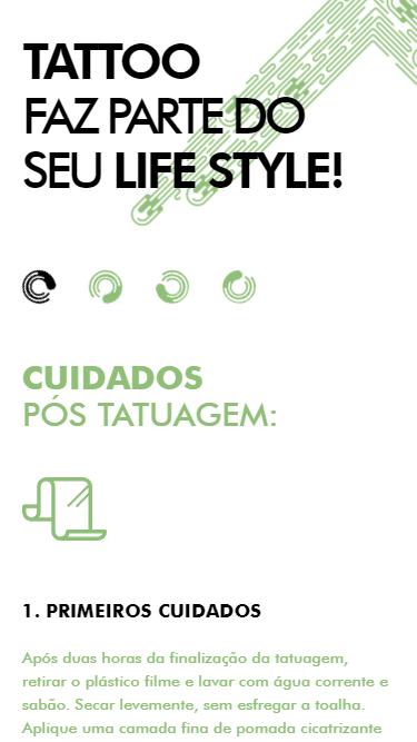 Mobile: Luizinho Tattoo