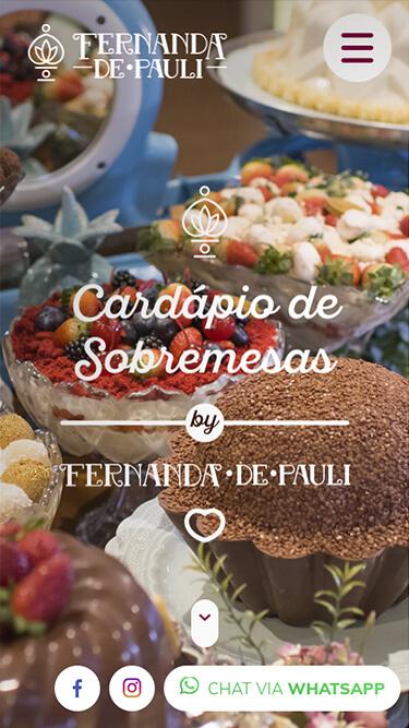 Mobile: Fernanda de Pauli