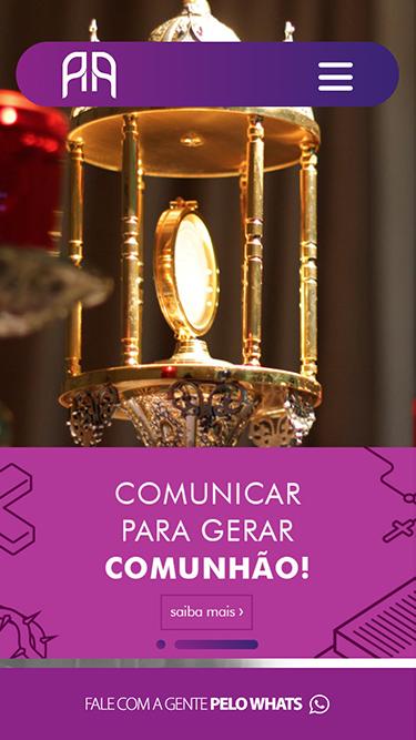 Mobile: Adora Comunicação