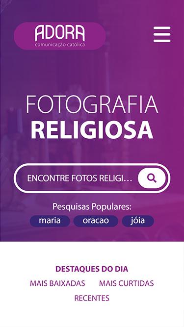 Mobile: Fotografia Religiosa