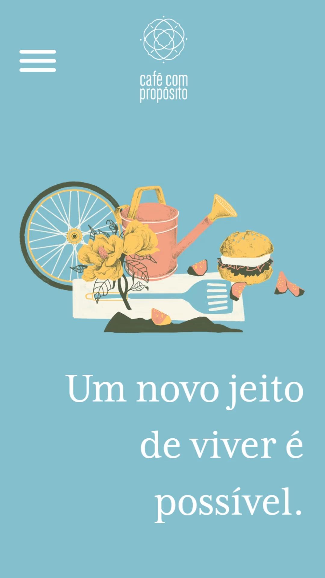 Mobile: Café com Propósito