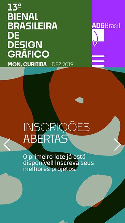 Mobile: 13ª Bienal Brasileira de Design Gráfico - ADG Brasil