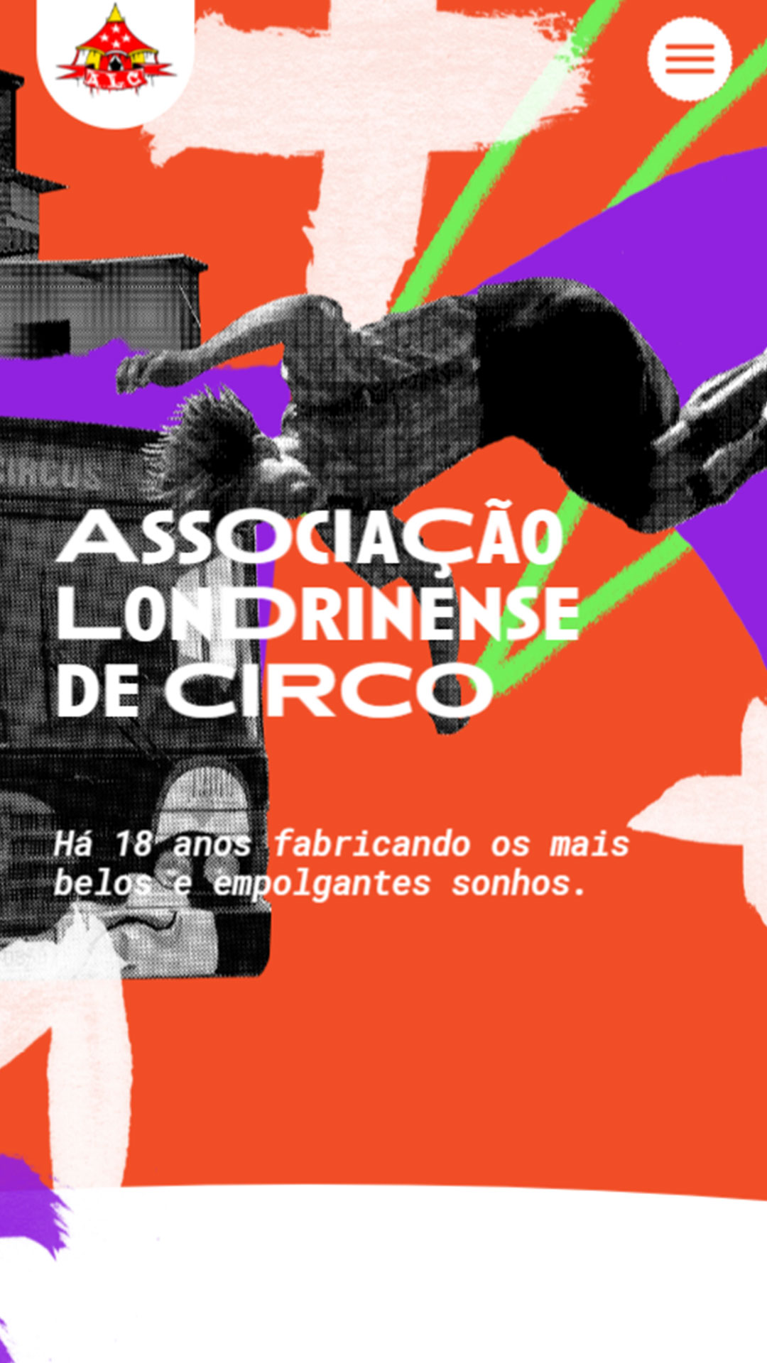 Mobile: Associação Londrinense de Circo