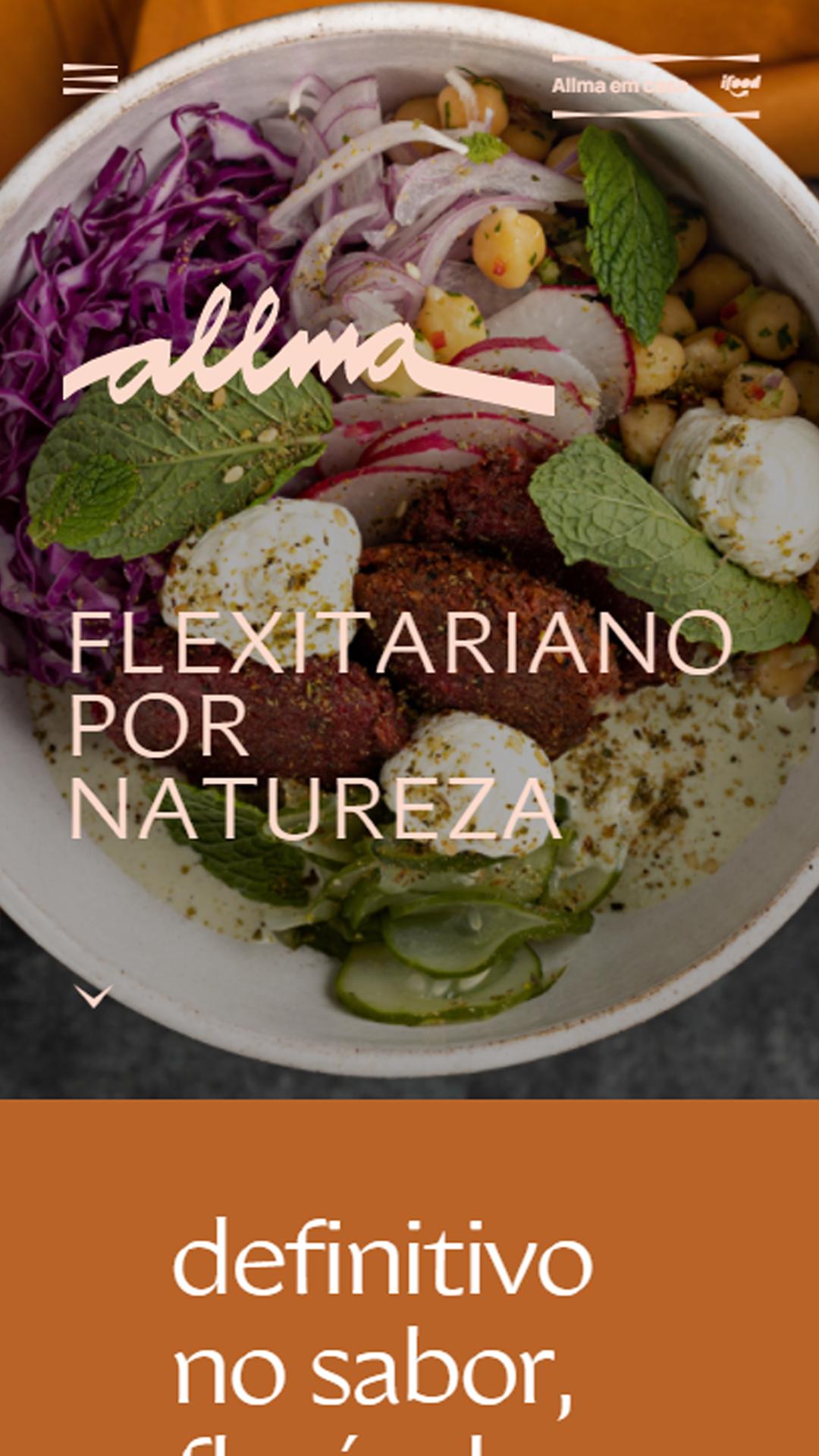 Mobile: Allma Restaurante